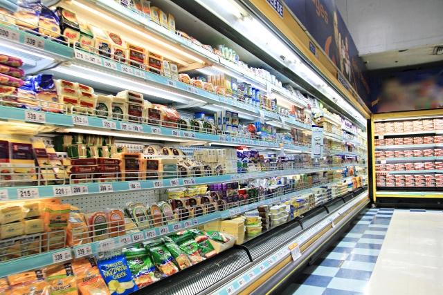 スーパーでの価格調査